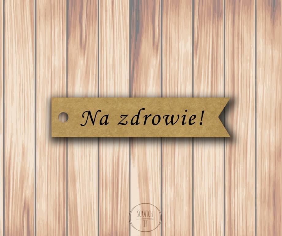 Eco zawieszki - flagi - MONOTYPE CORSIVA