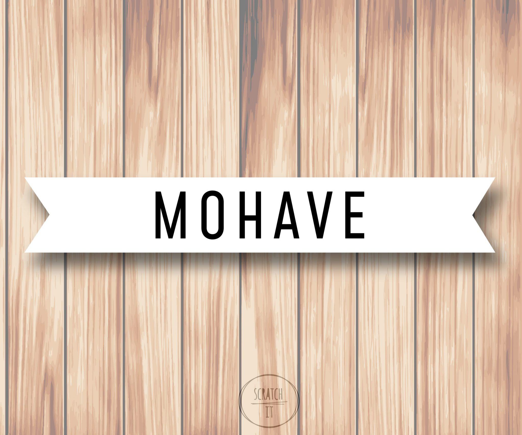 Białe winietki - flaga - MOHAVE