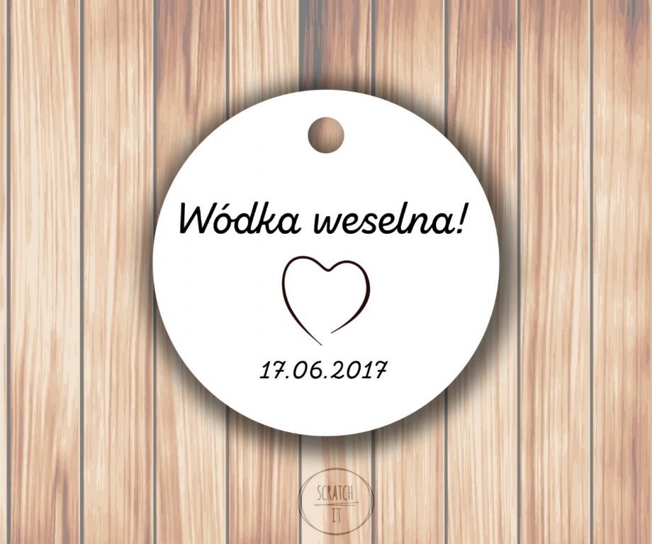 Biale zawieszki - kolka - ZING