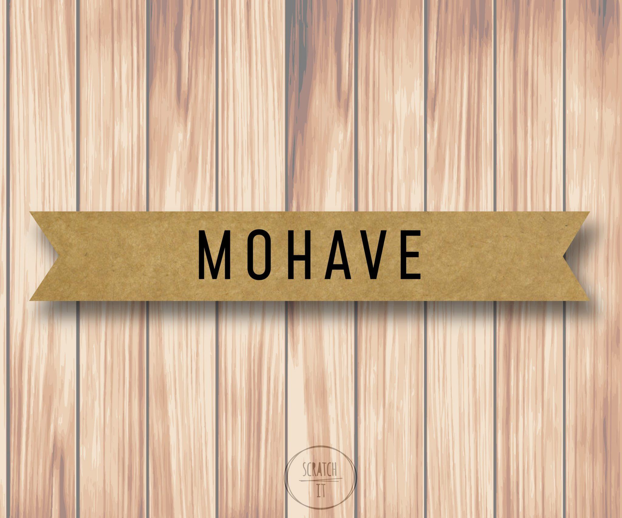 Eco winietki - flaga - MOHAVE